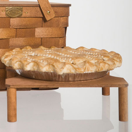 Check out this Two-Pie Basket made in Peterborough, NH by Peterboro Basket Company. Purchase to support 25 American workers. Gets you 686 Boom™ Points.
